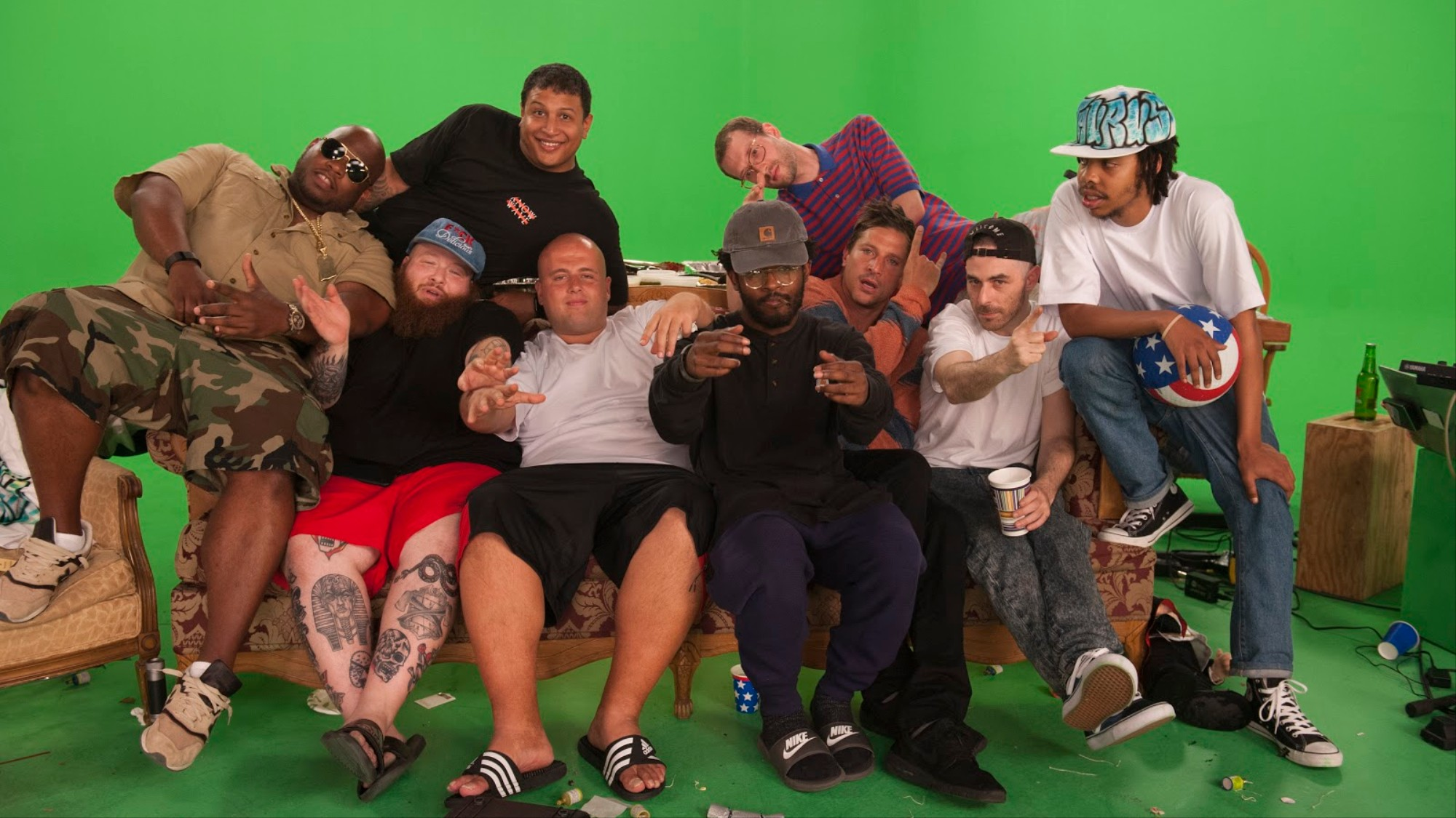 How Action Bronson Ended Up Getting High and Watching 'Ancient