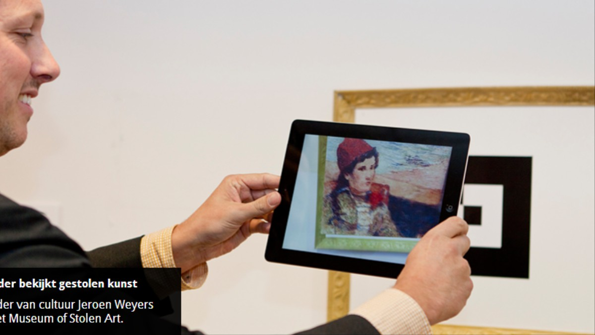 This Museum Displays Stolen Artworks in Augmented Reality