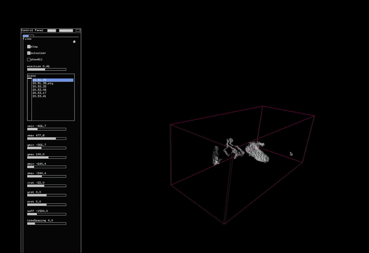 Inmi Lee and Kyle McDonald have created a way to craft 3D sculptures from gestural sound data.