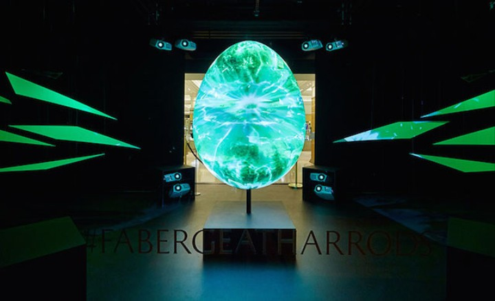 Here's the World's Brightest Fabergé Egg