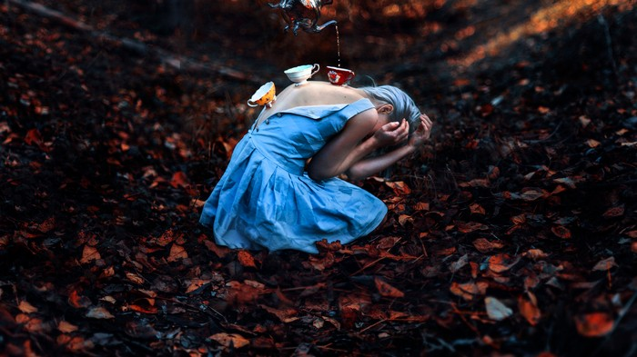 Fantasy-Inspired Portraits of Strong Women in Seattle Woodlands