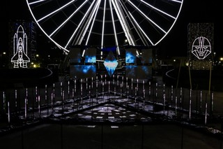 An Artist Is Projection-Mapping Astonishing Visuals On A