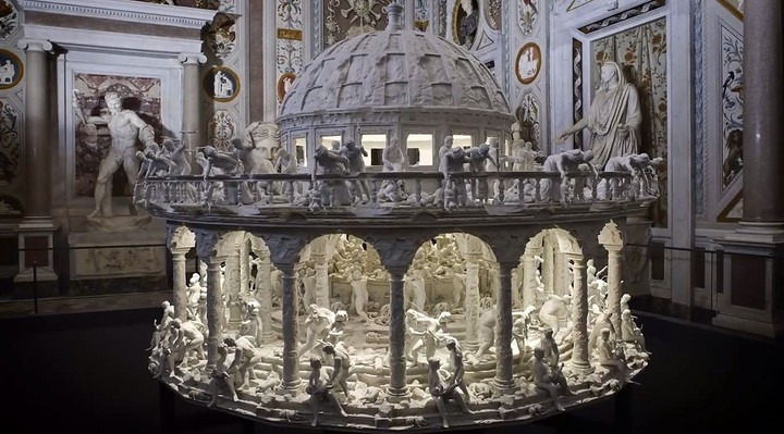Meet the Giant 3D-Printed Zoetrope Inspired by a Gruesome Painting