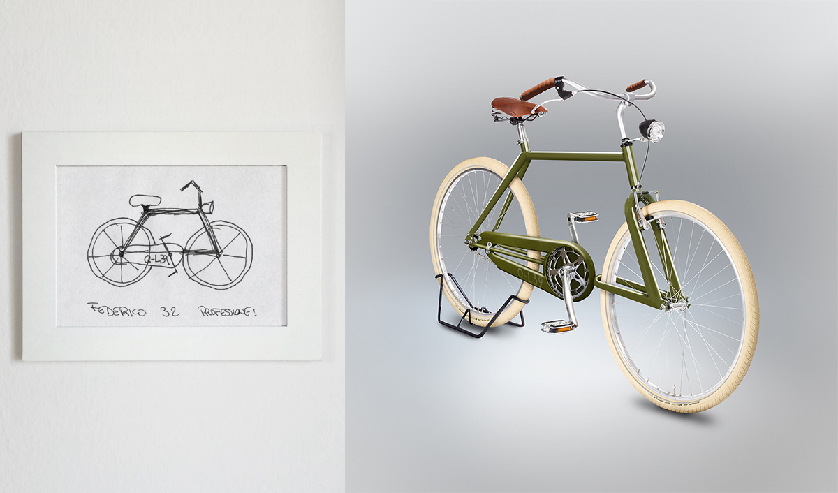 Bad drawings of bicycles become hilarious hyperrealistic renderings