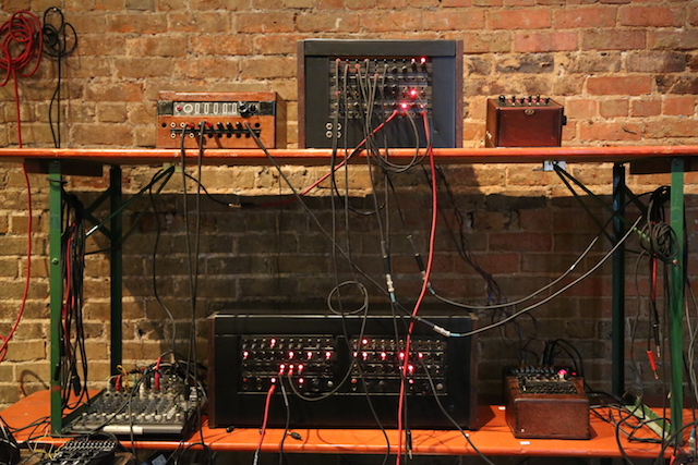dial 1 800 moogfest on a synth made of vintage telephone parts creators. Black Bedroom Furniture Sets. Home Design Ideas