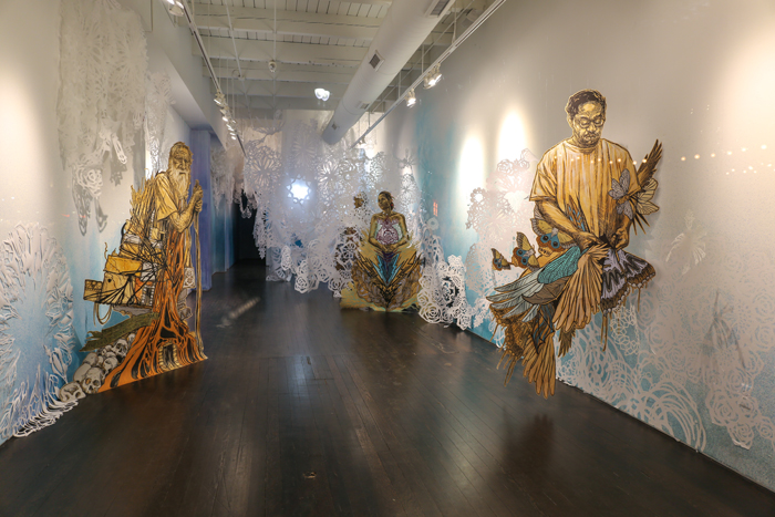 Street Artist Swoon Brings A Spiritual Installation To