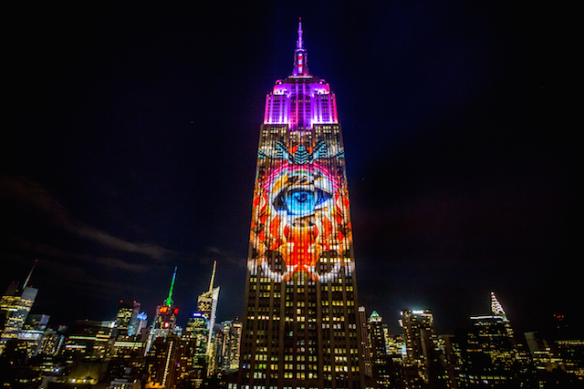 Great ... Empire State Building Light Shows, From Green Lights On St. Patricks  Day To Mark Brickmanu0027s Illuminated Ode To The Whitneyu0027s Classic American  Artworks. Amazing Ideas