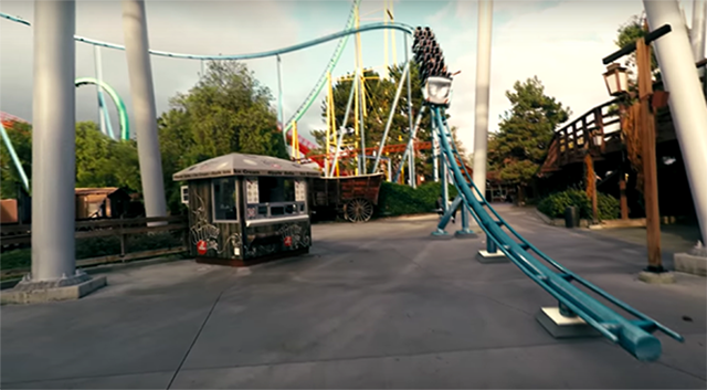 PUKE! Here's What 'RollerCoaster Tycoon' Would Look Like IRL - VICE