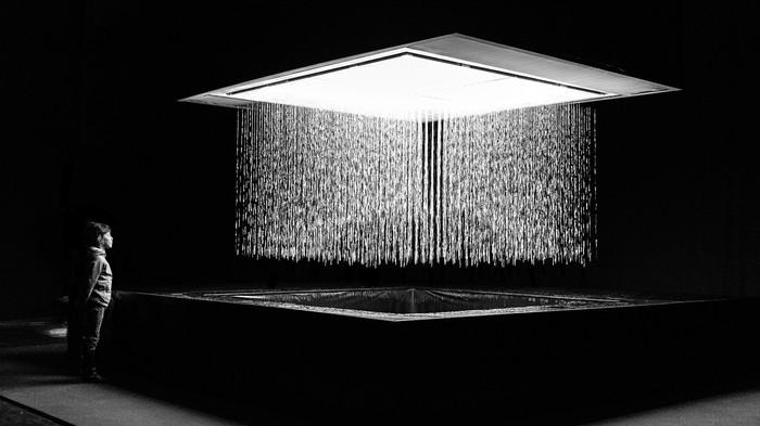 This Water-Based Video Installation Is Not a Piece of Art—It's a Medium