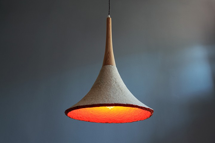 Meet the Designer Growing Lamps Out of Mushrooms