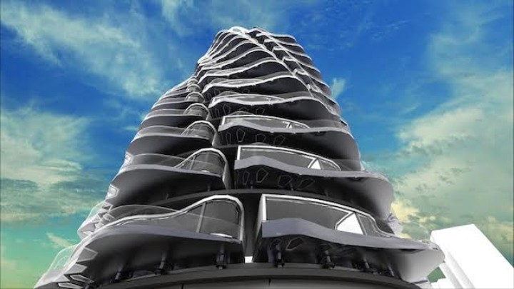 In This 360-Degree Rotating Tower, Everyone Gets to Live at the Top