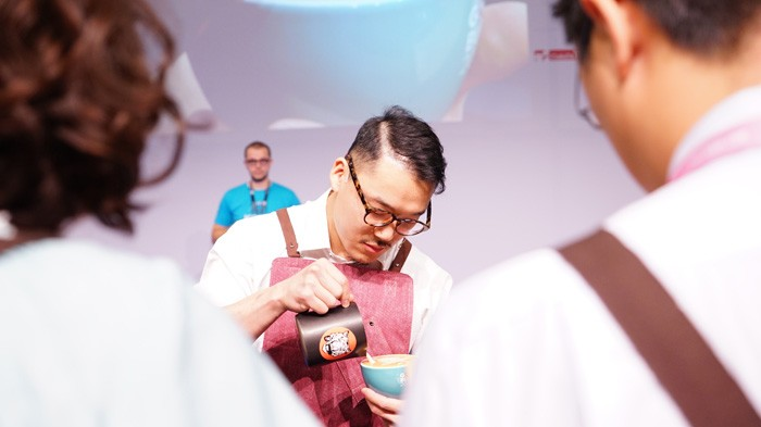 Keeping It Cool, with the Latte Art World Champion