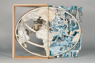 Artist Embraces Old-Fashioned Books for his Collage Works - VICE