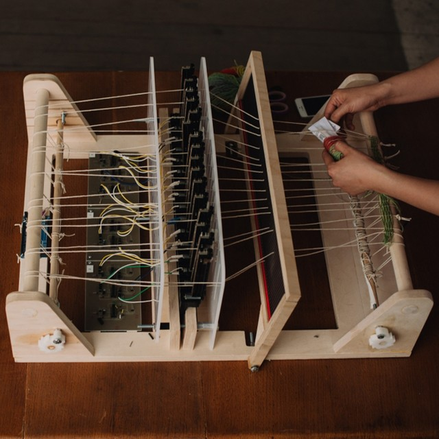 This Digital Loom is More Than Just a Desktop Fabric Printer