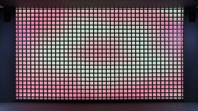 for more on this interactive wall visit ranagram and color kinetics japan