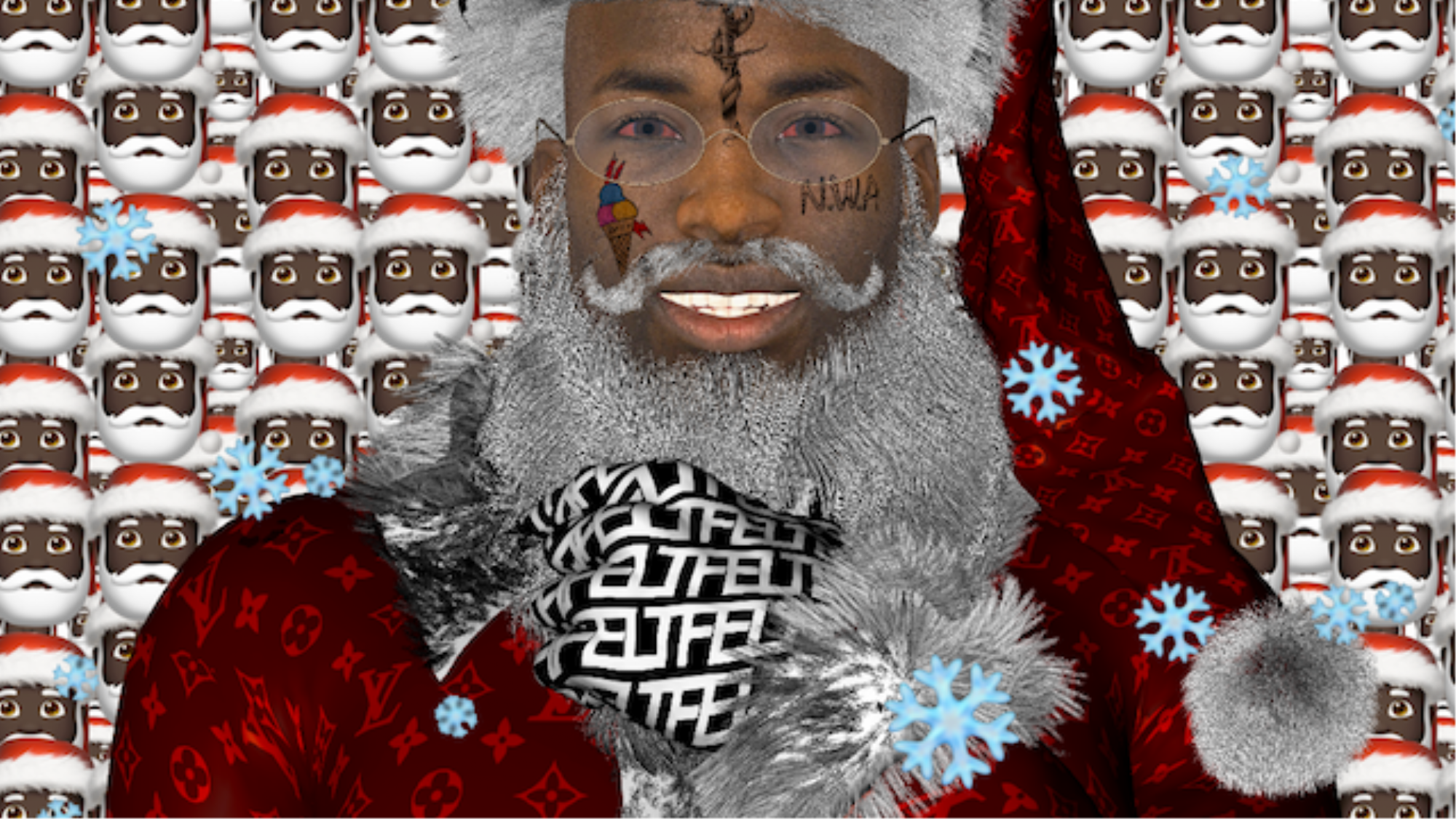Gucci Mane Christmas.Premiere East Atlanta Santa Gucci Mane Goes Cgi For