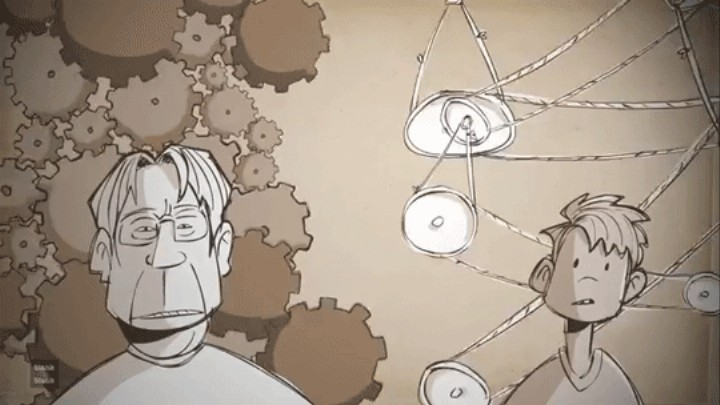An Inspiring Animation of Stephen King Talking About the Power of Dreams