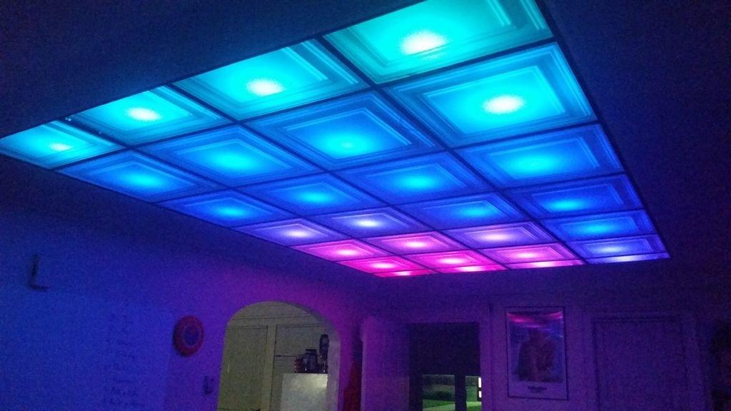 How to turn your room into a nightclub with a diy led ceiling how to turn your room into a nightclub with a diy led ceiling creators aloadofball Images