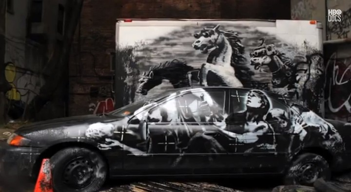 Leaked 'Banksy Does New York' Teasers Temporarily Tag YouTube
