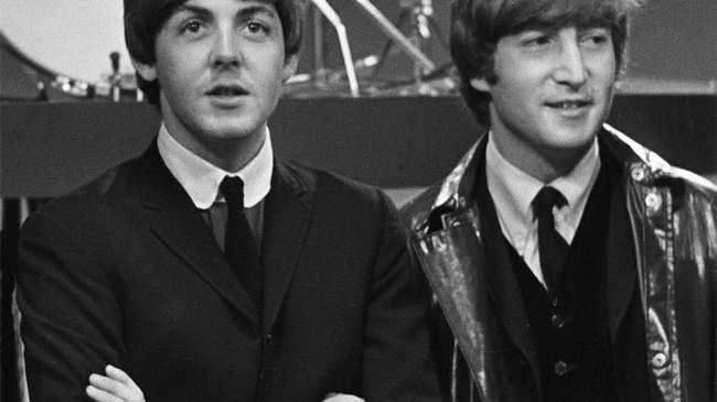 Lennon And McCartneys Friendship Becomes A Musical Data Art Duet