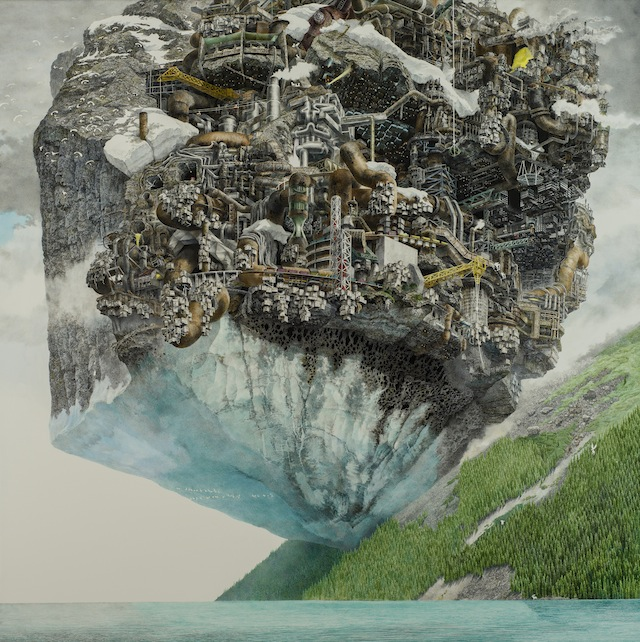 Are These Giant Chaotic Illustrations Predicting Natural Disasters