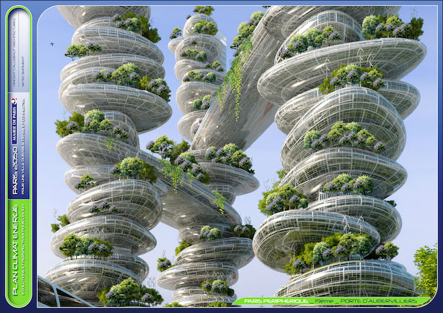 Paris 2050 the smog eating smart city of the future for Architecture 2050