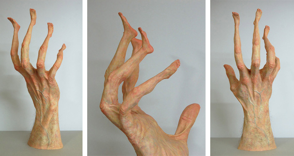 Twisted Sculptures Put Body Parts In All The Wrong Places Vice