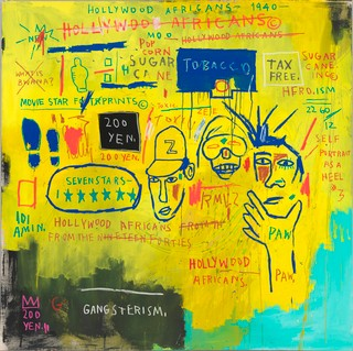 2. Jean-Michel Basquiat, Hollywood Africans, 1983, Whitney Museum of American Art, ARS, New York, ADAGP, Paris.jpg
