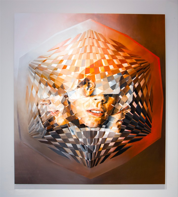 Figure Painting and Black Holes Collide in Vibrant Geometries