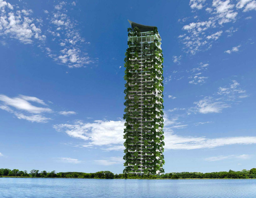 World's Tallest Vertical Garden Is Growing In Sri Lanka