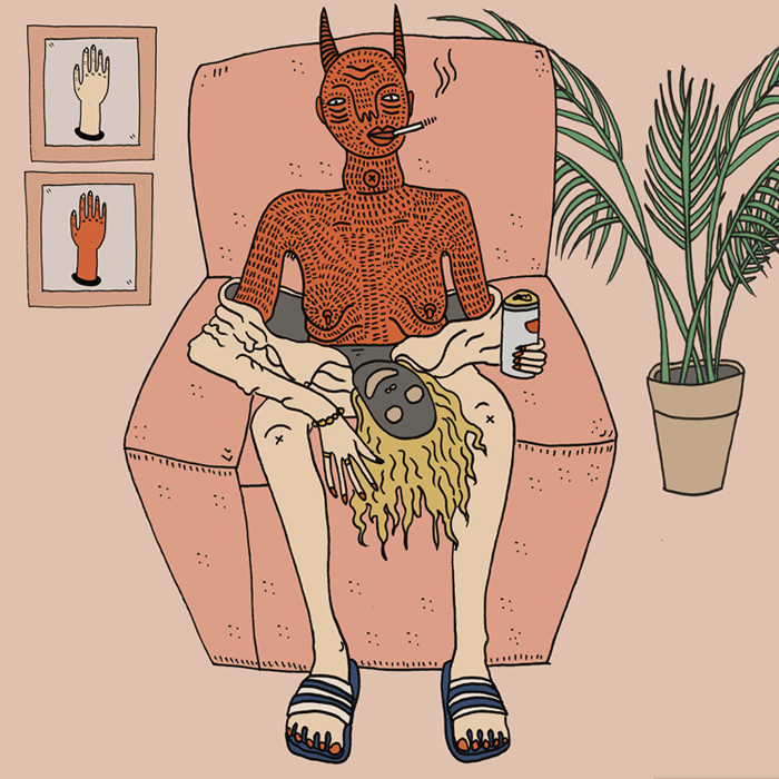 Magical Drawings Put Women In Conversation With Their Demons Vice