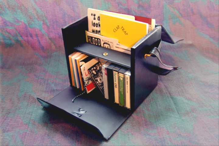 This Artist is Distributing Mini Libraries of Zines and Collages