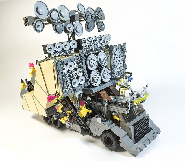 Building the Monstrous Cars of 'Mad Max: Fury Road' with Legos - VICE