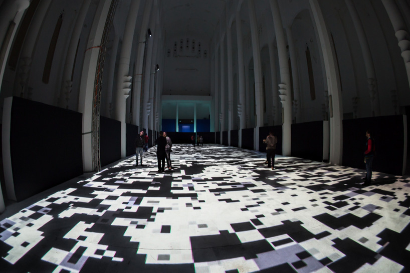 Interactive Light Display Turns Floor Of Moroccan Church Into
