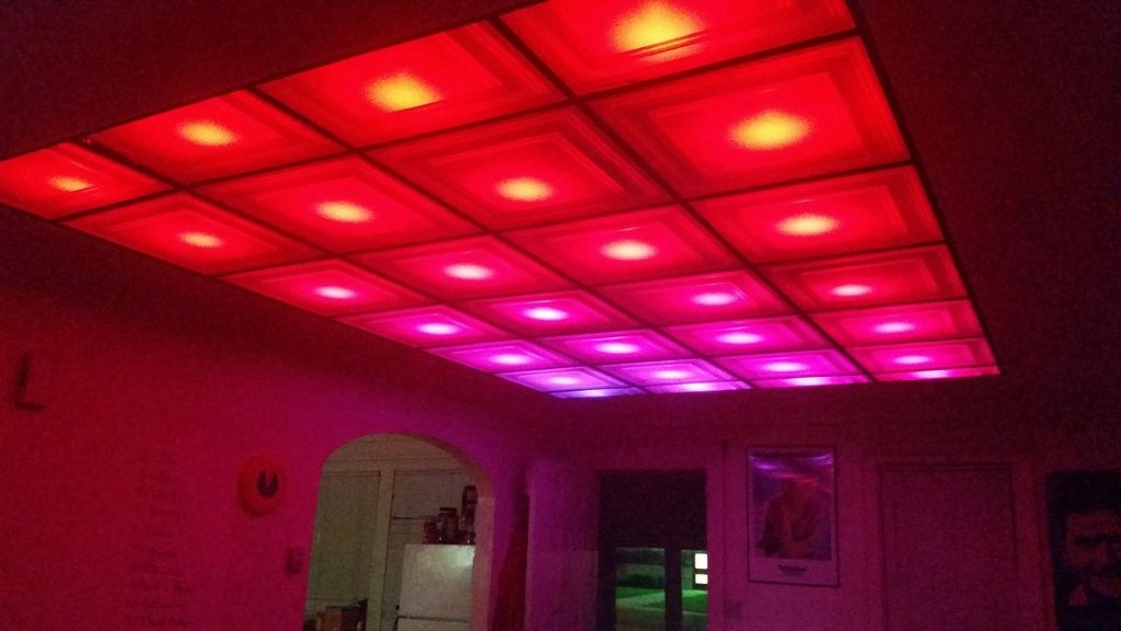How To Turn Your Room Into A Nightclub With Diy Led Ceiling